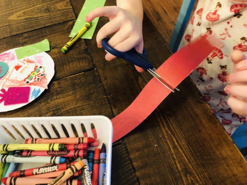 Preschool Scissor Crafts
