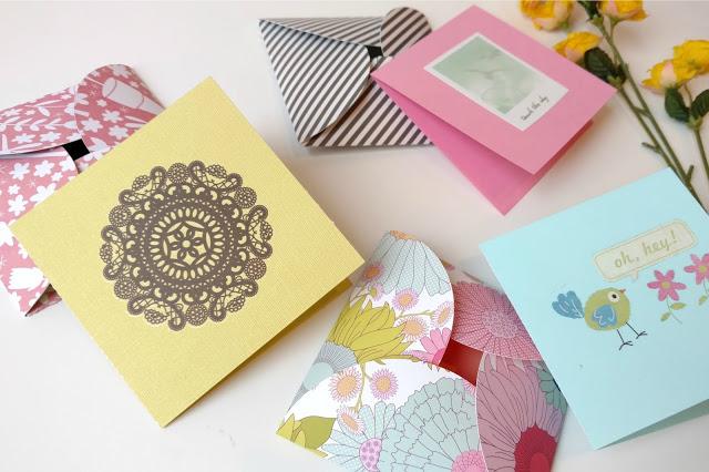 2018 best crafts card & envelope