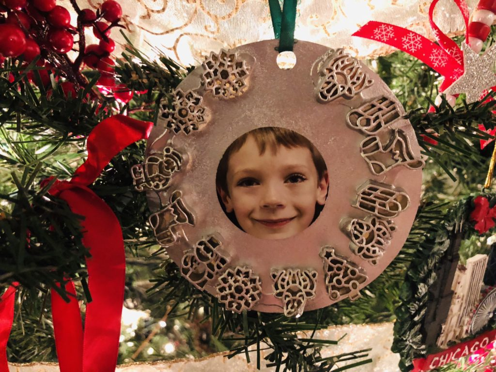 Child Made Ornaments