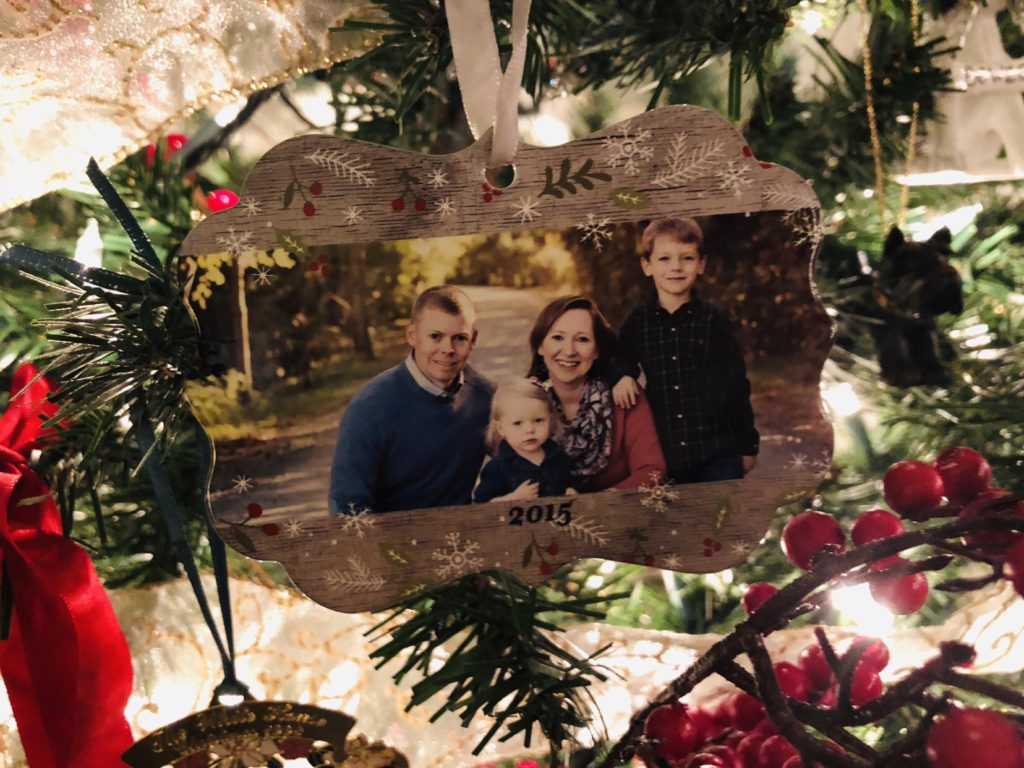 Christmas Tree Full of Memories