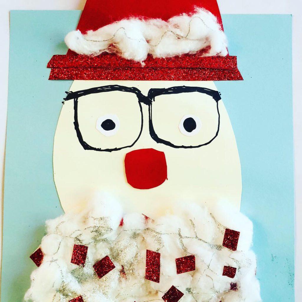 Santa's Glitter Beard Craft