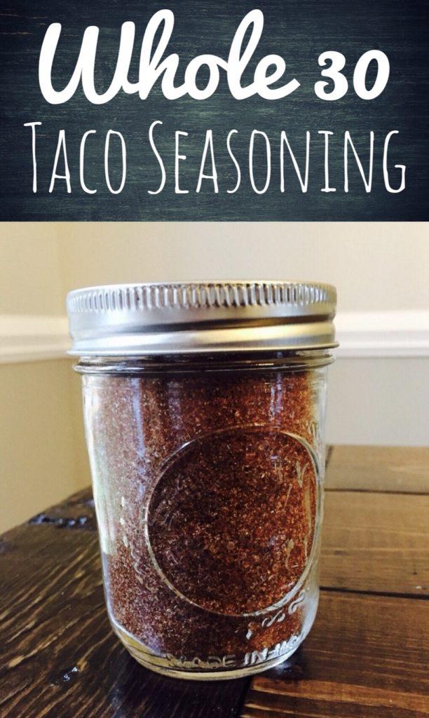 Whole 30 Taco Seasoning
