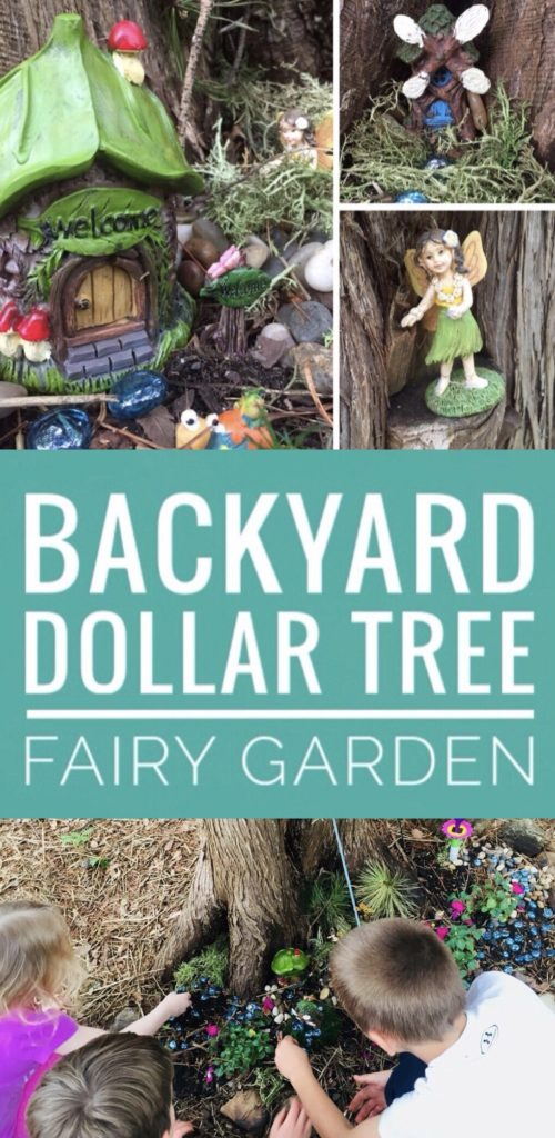 Create a Backyard Dollar Tree Fairy Garden with your kids this spring! Dollar Tree has a great selection of fairy garden supplies right now!
