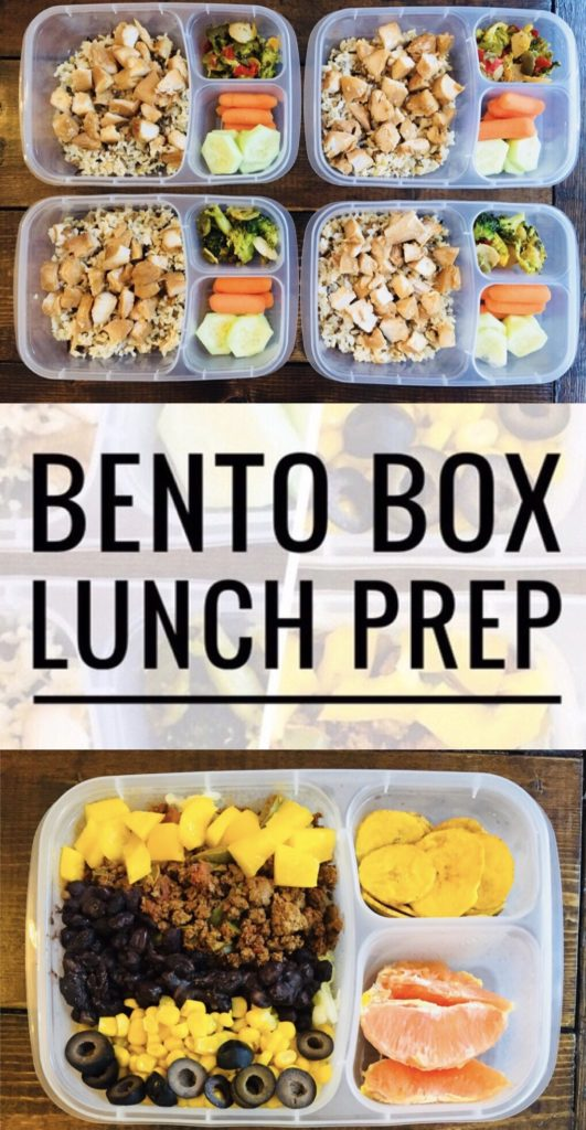 Make your weeks smoother with this Bento Box Lunch Prep! Makes it so much easier to eat a healthy lunch and save money. Perfect for work or school lunches.