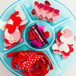 Valentine Heart Paper Plate Wreath Craft