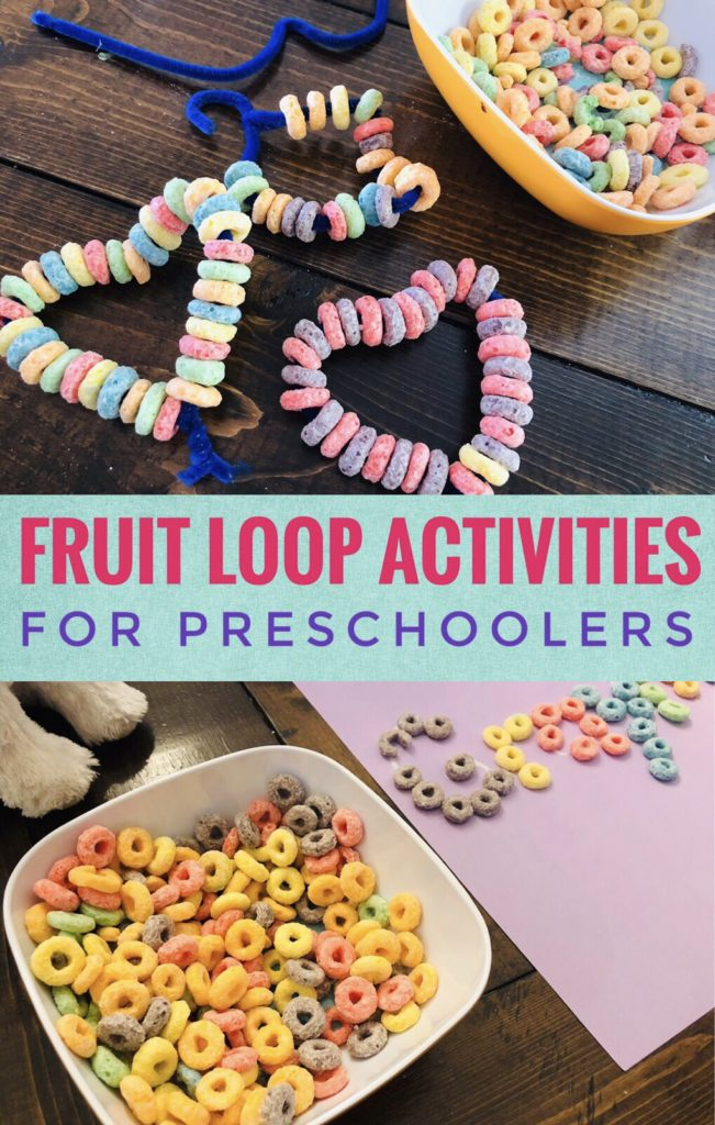 Fruit Loop Activities for Preschoolers
