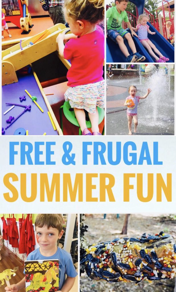 Free & Frugal Summer Fun - Make a Summer Bucket List and find activities in your area that are free or frugal.
