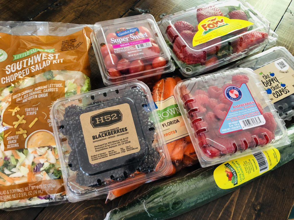Aldi Lunch Produce - great prices!