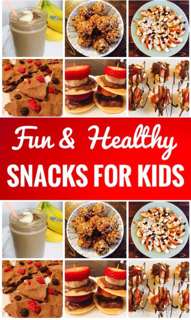 Fun and Healthy Snacks for Kids - Great ideas for summer break!