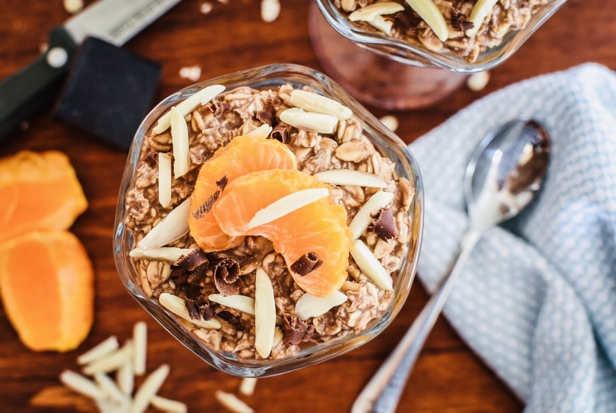 Clementine and Cocoa Oats