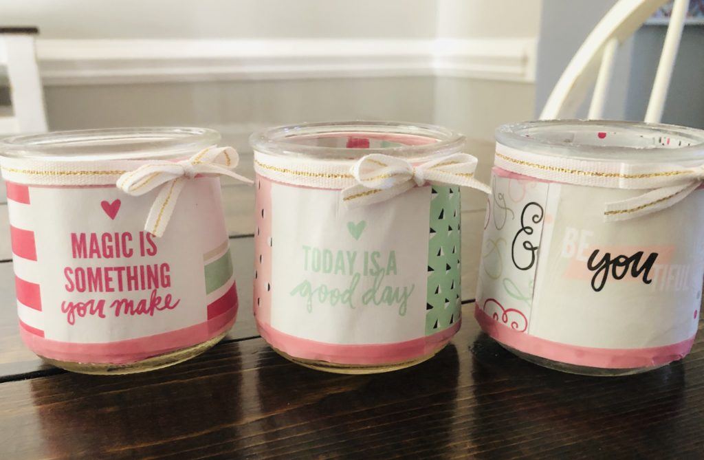 Oui Yogurt Jars DIY