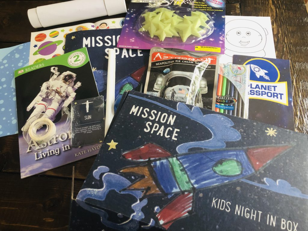 Space Themed Activity Box