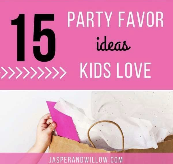 Party Favor Ideas for Kids