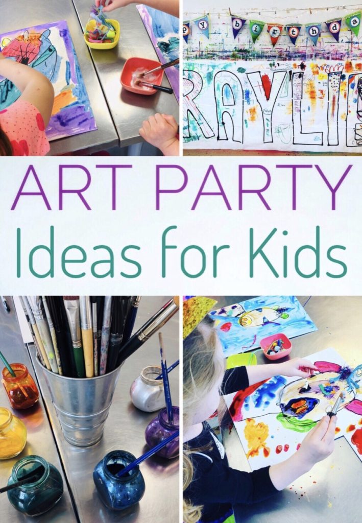 Art Party Ideas for Kids