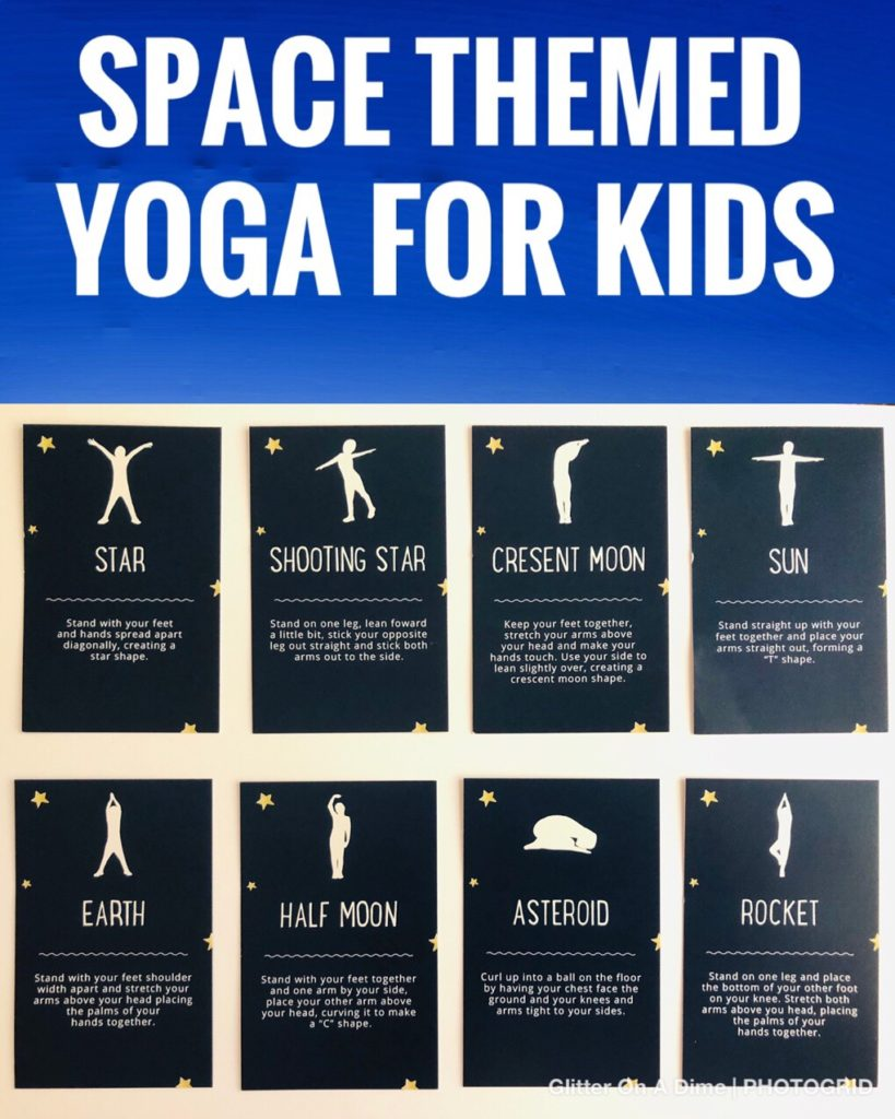 Space Themed Yoga for Kids