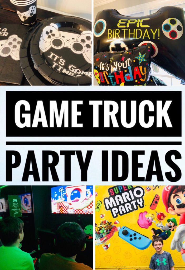 Video Game Truck Party Ideas
