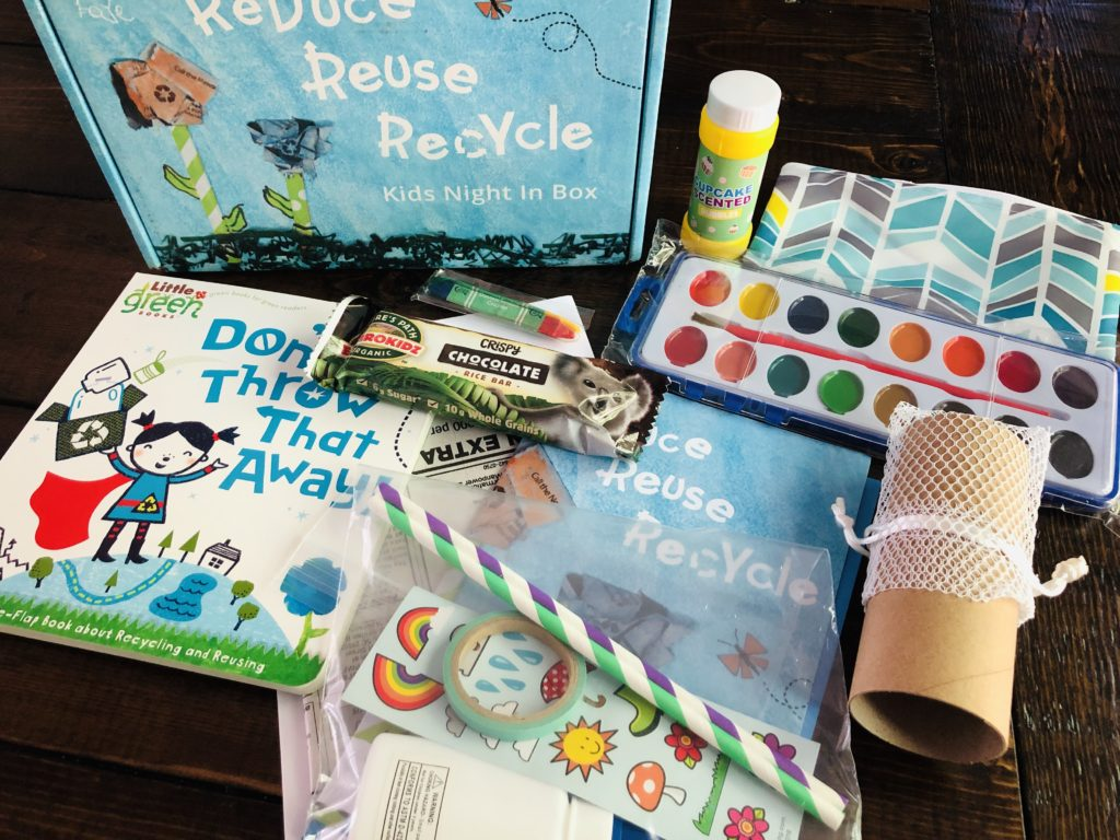 Try the Kids Night In subscription box for kids for an easy summer boredom buster.