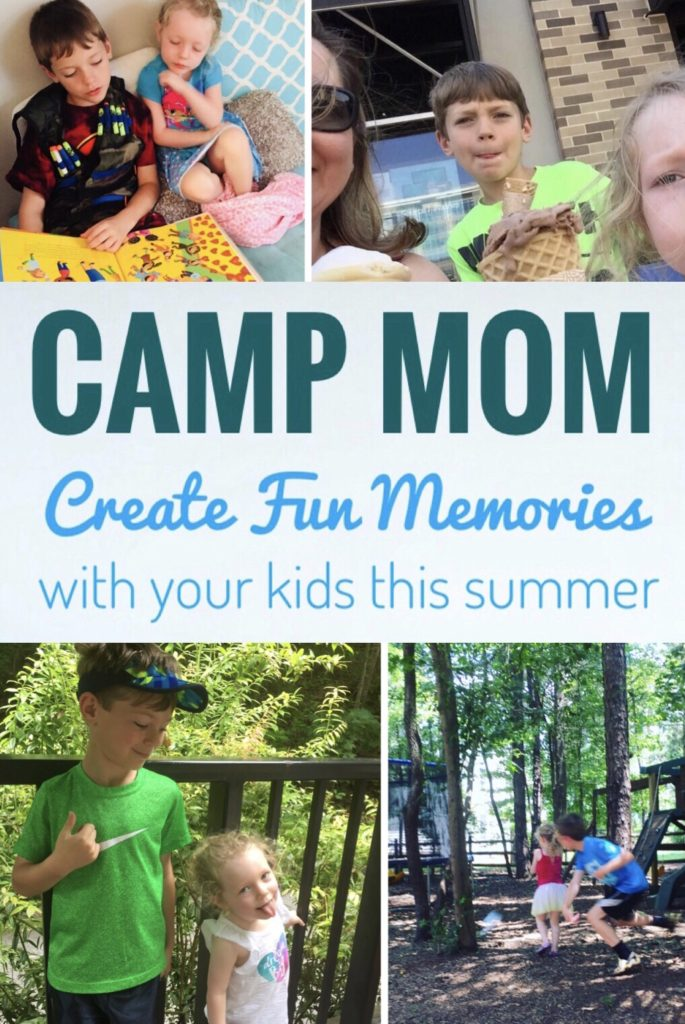 Camp Mom Tips and Themes - Create fun memories with your kids this summer with these tips and theme ideas!