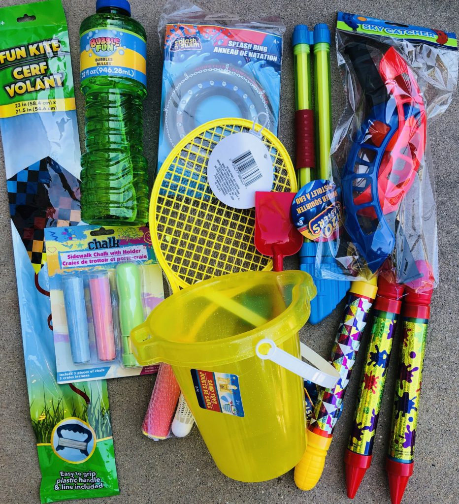 Summer Fun Basket Items
