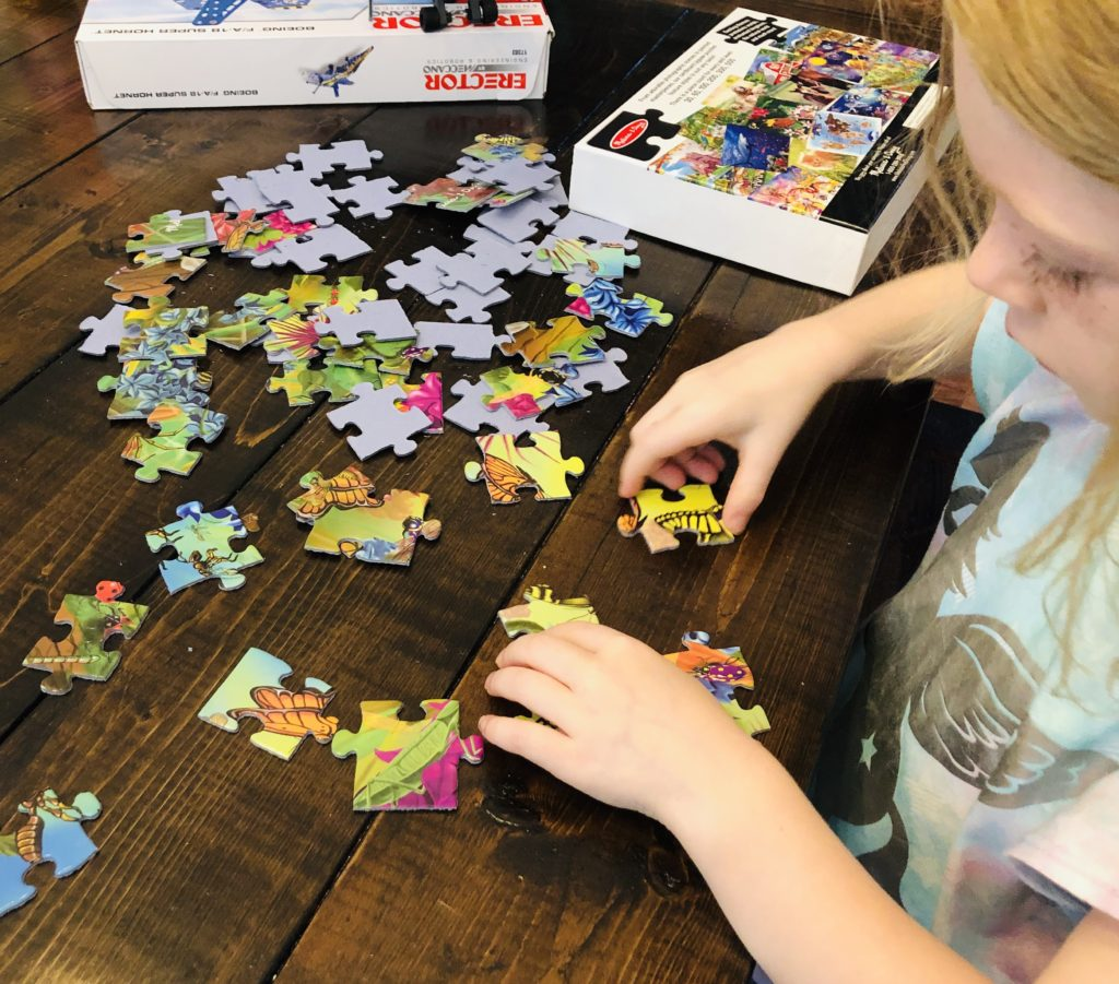 Butterfly Puzzle - summer activity