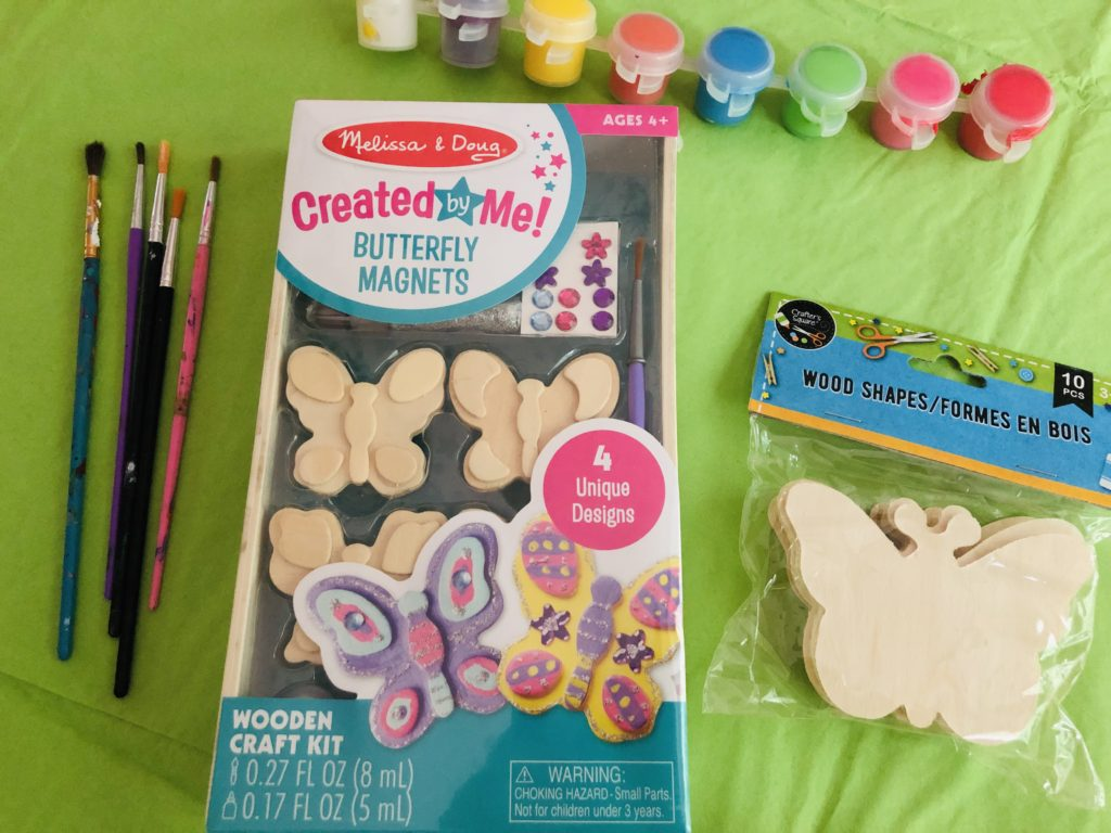 Playdate Craft for butterfly week