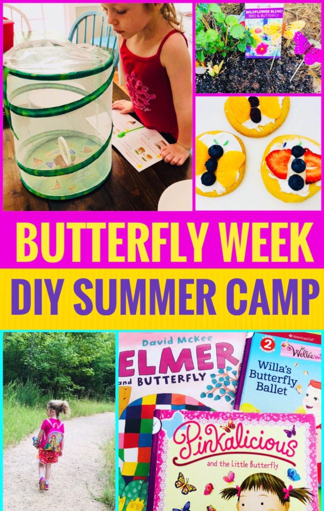 DIY Summer Camp Butterfly Week - fun crafts and activities to keep the kids busy this summer!
