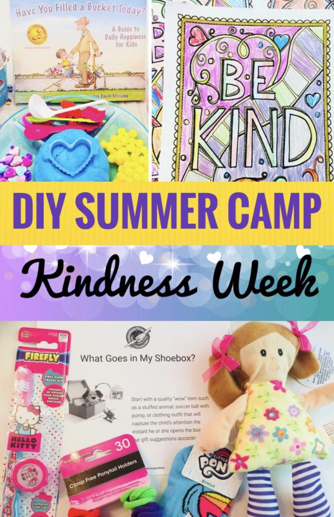 Kindness Week Crafts and Activities for Kids - have fun teaching kindness with these great ideas!