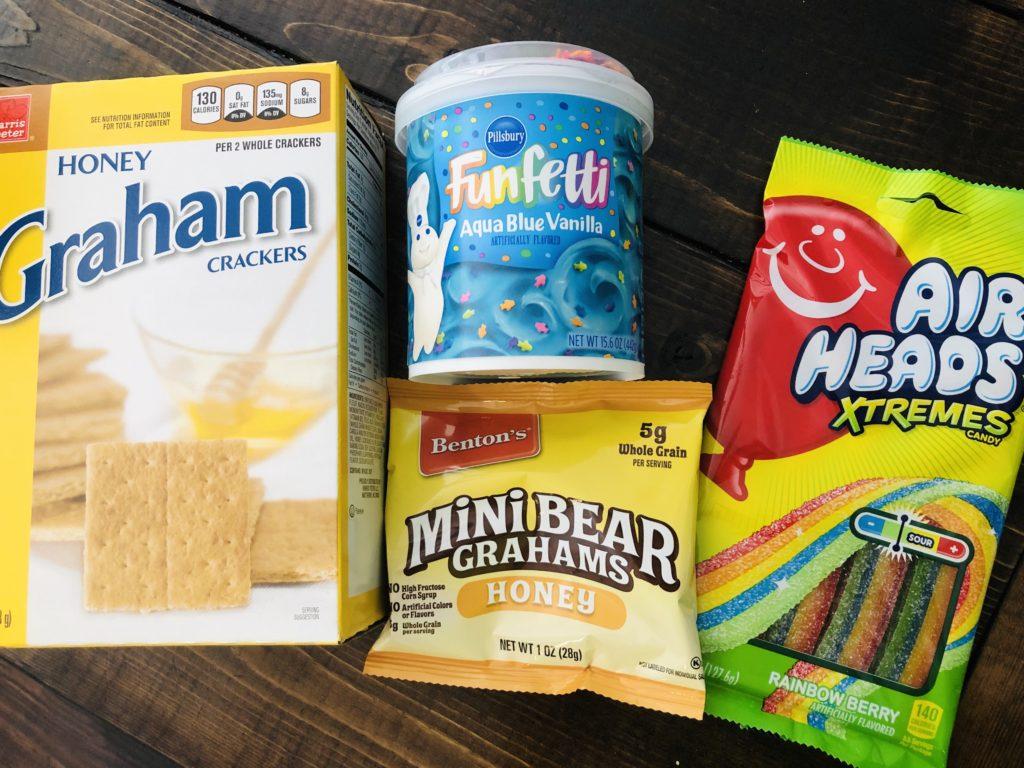 Beach Snack Ingredients