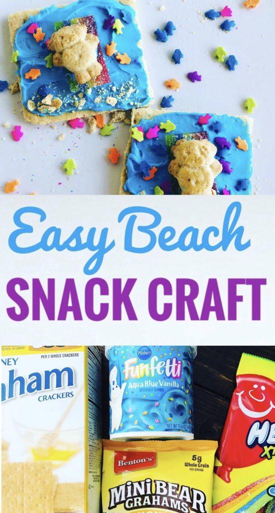 Easy Beach Snack Craft