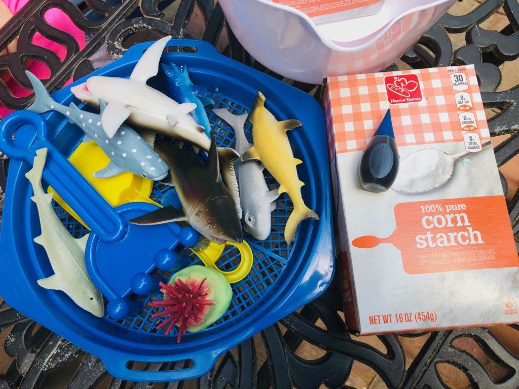 Shark Ocean Oobleck Supplies