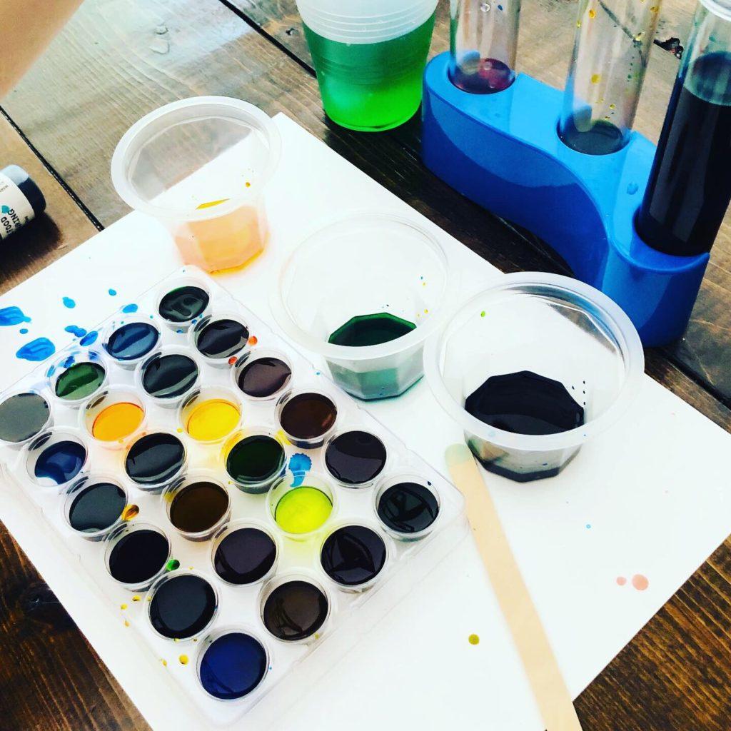 Color Mixing Experiments