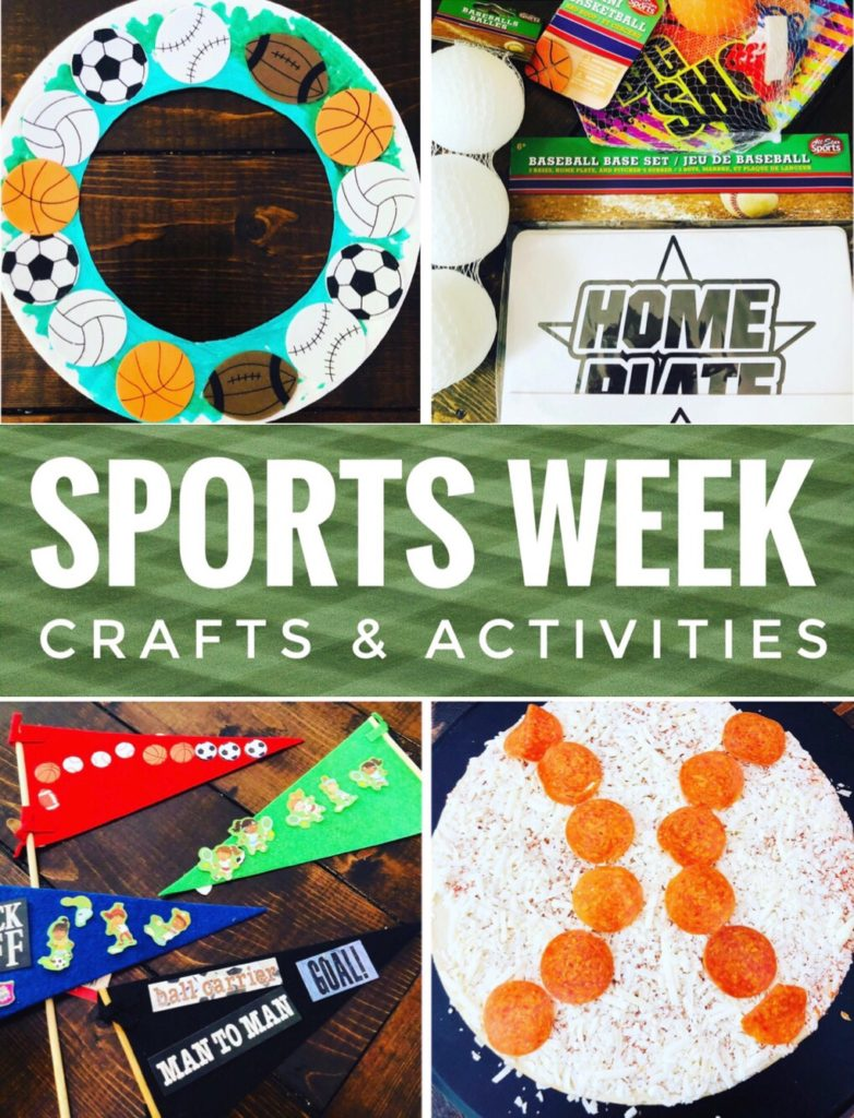 Sports Themed Crafts and Activities for kids