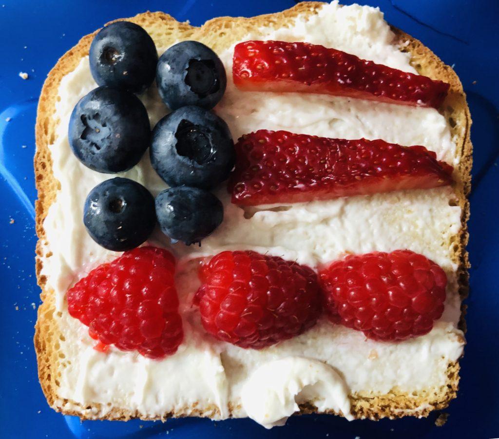 Patriotic FlagToast