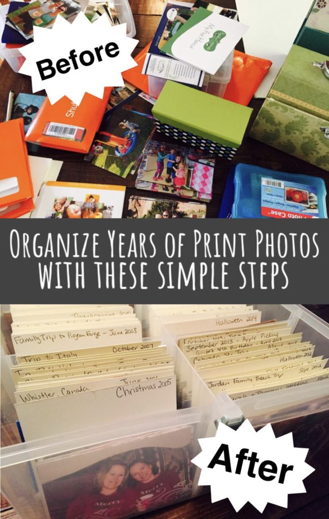 Organize Years of Print Photos with this Simple Steps