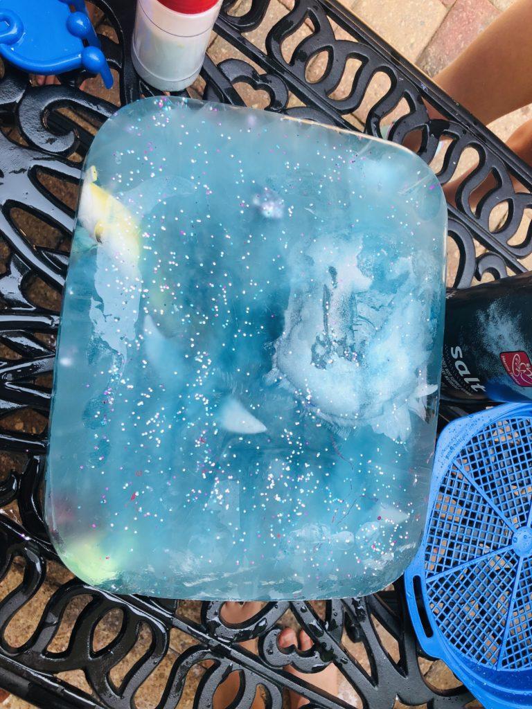 Ice Block Summer Activity