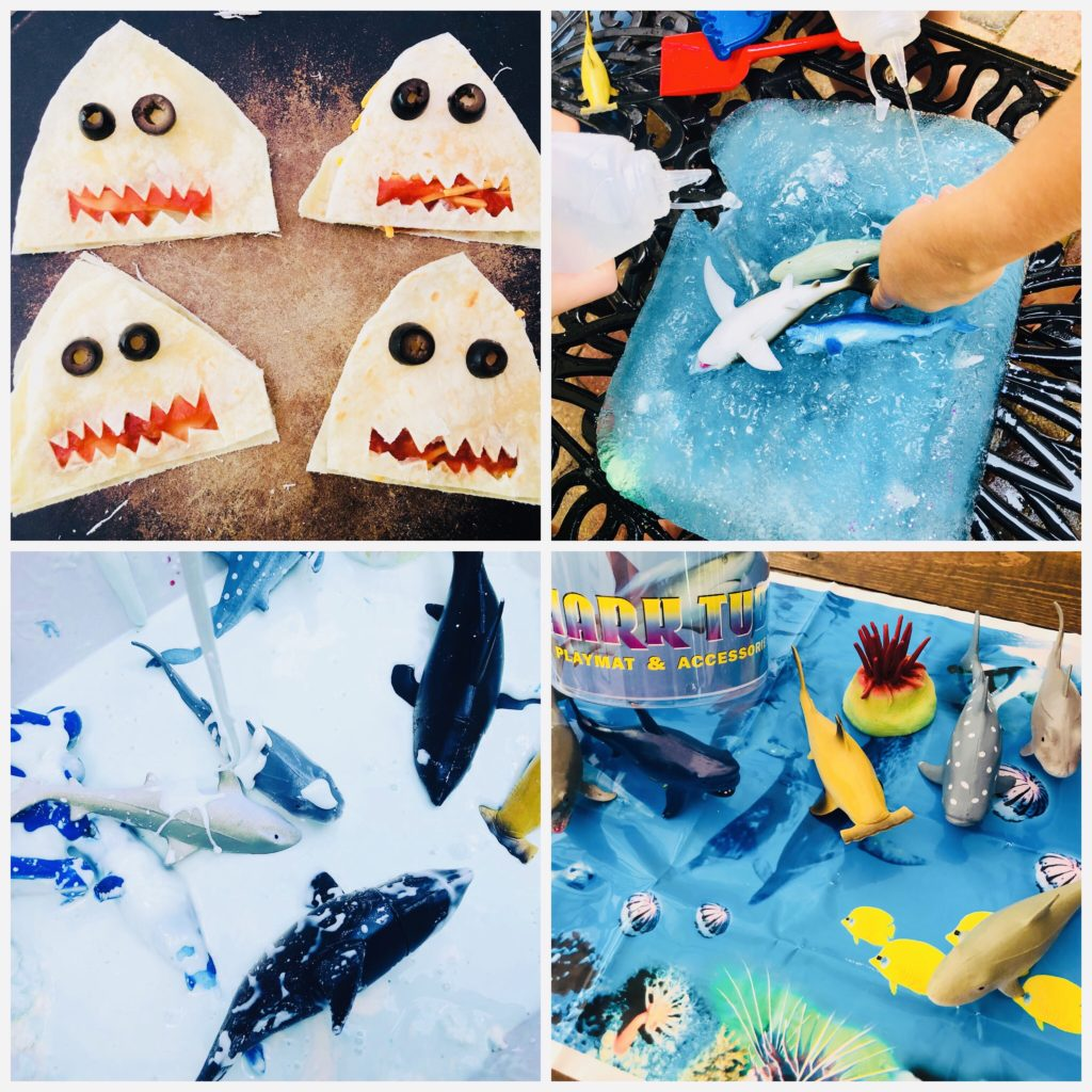 Shark Themed Crafts and Activities for Kids