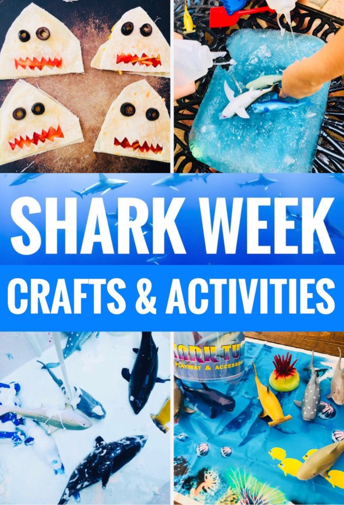 Shark Themed Crafts & Activities for Kids