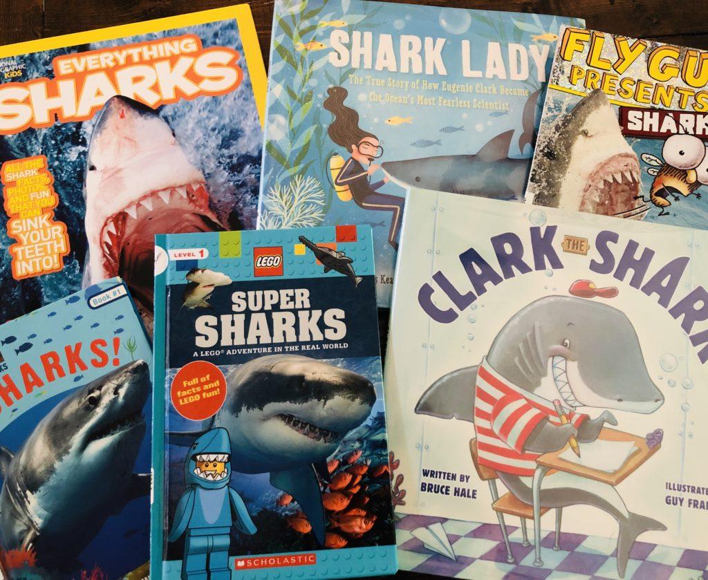 Shark Themed Books for Kids