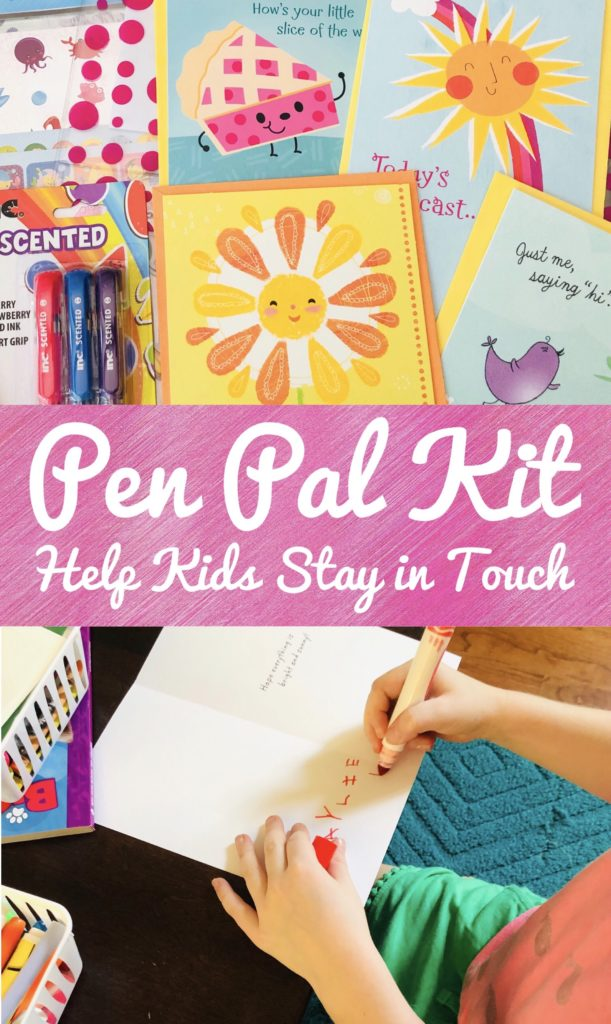 Help Kids Stay in Touch with a Pen Pal Kit