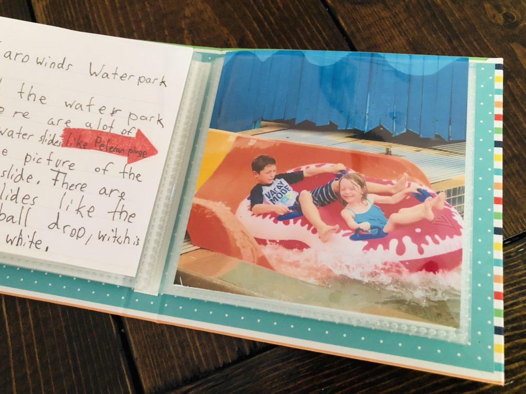 summer memories photo journal