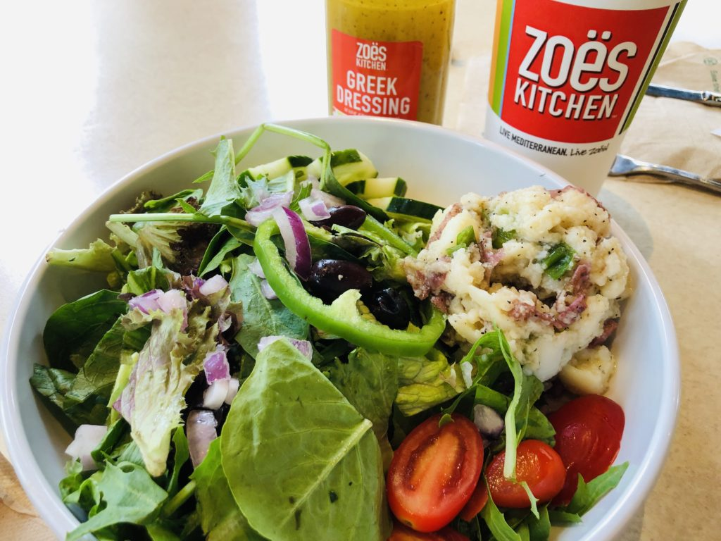 Zoes Kitchen Whole30 Meal