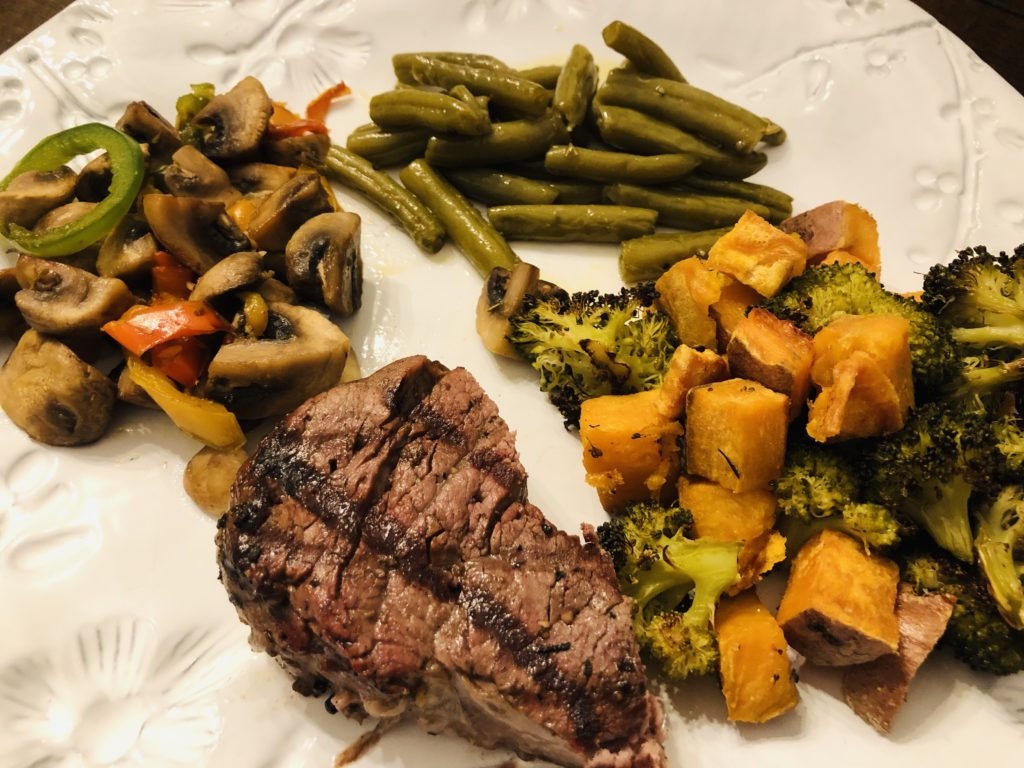 Whole30 Steak Dinner