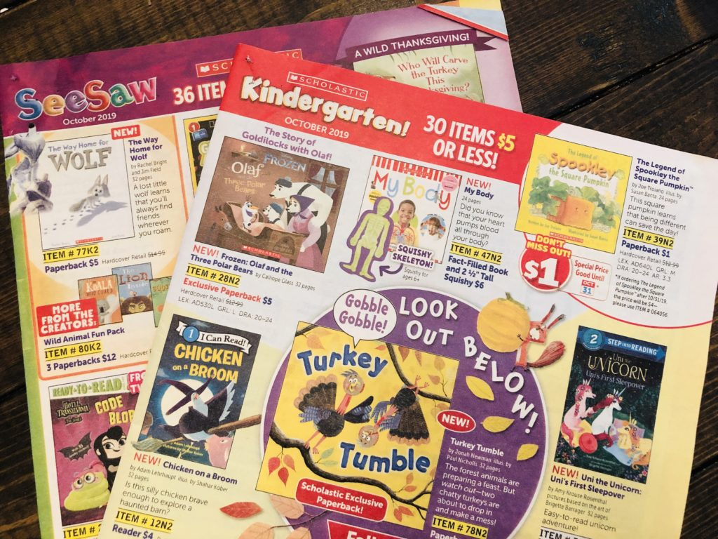Scholastic Books for $1.00