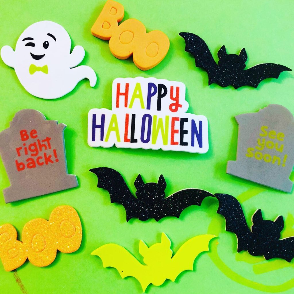 Halloween Foam Sticker Craft