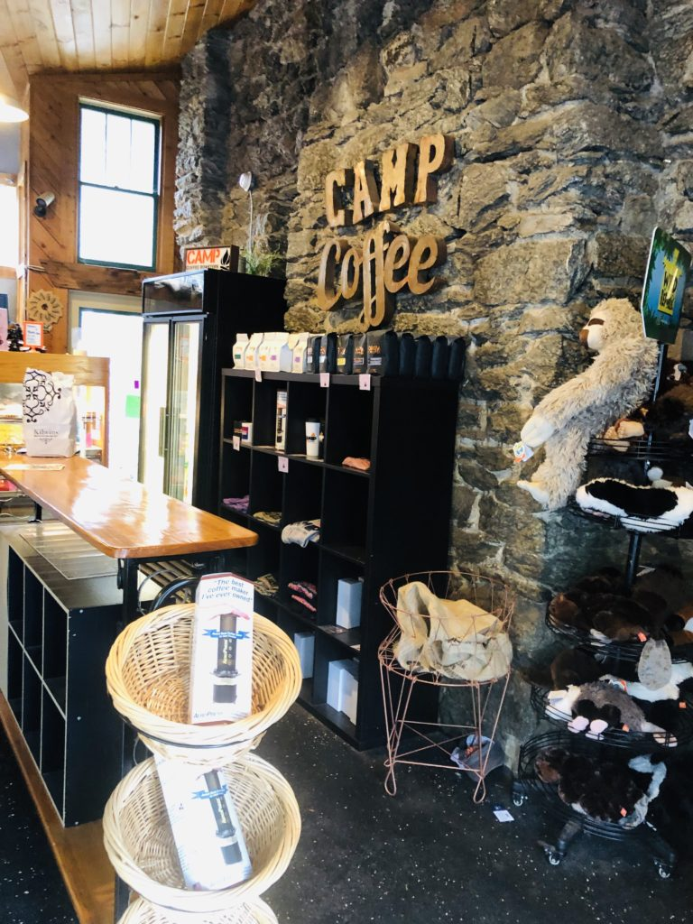 Camp Coffee in Blowing Rock
