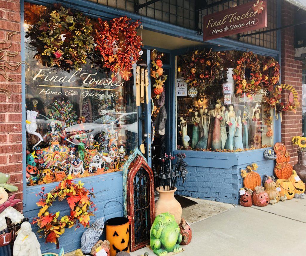 Cute shops in Blowing Rock