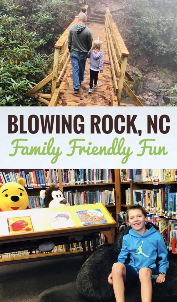 Find fun ways to discover Blowing Rock, NC with kids! This trip can be very inexpensive and you will make lots of great family memories along the way!