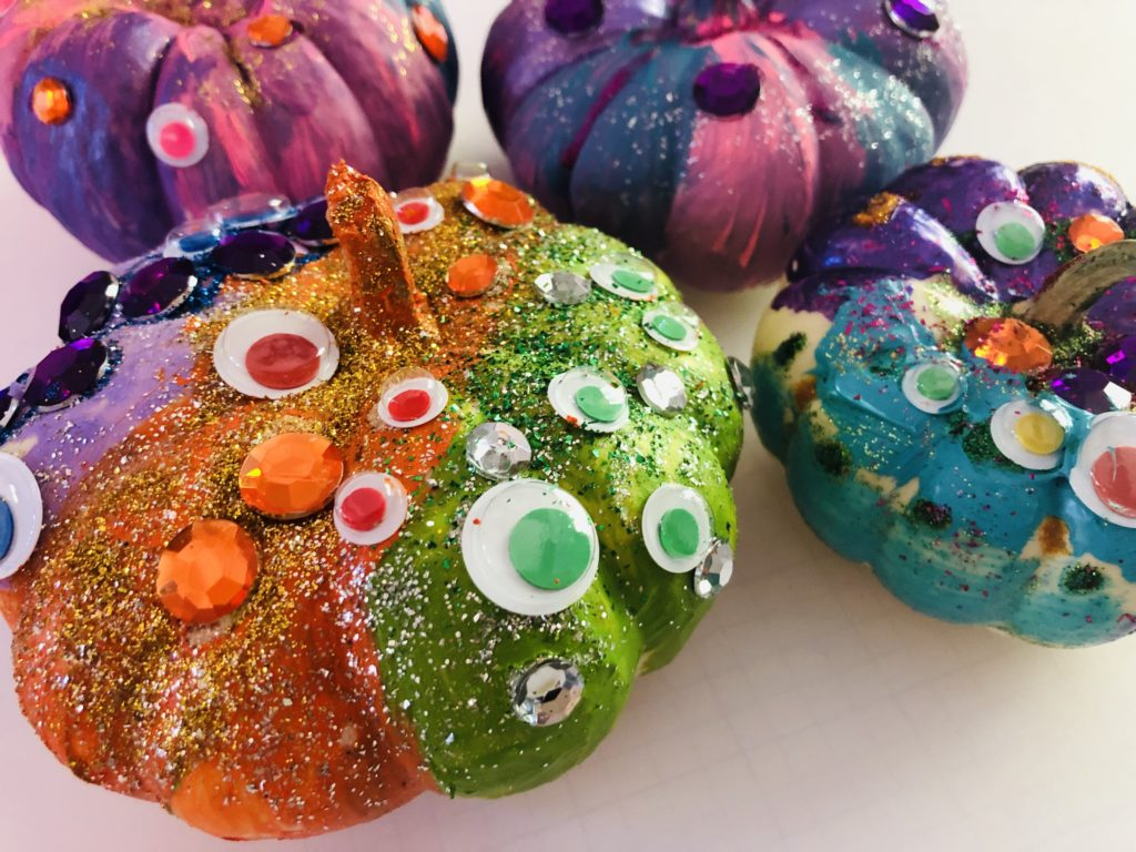 Pumpkin Decorating with kids