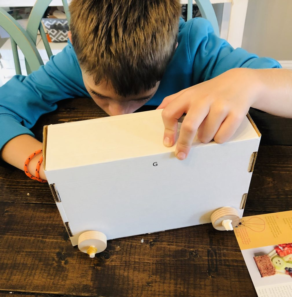 Kids Night in Subscription Box project