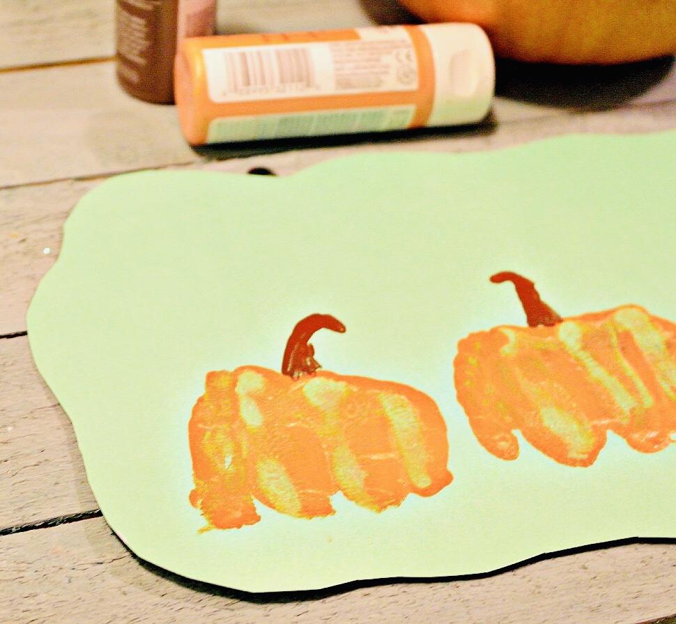 Fist Bum-kins Pumpkin Craft